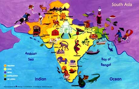 map of south asia 10 Things to Know Before Traveling to Southeast Asia