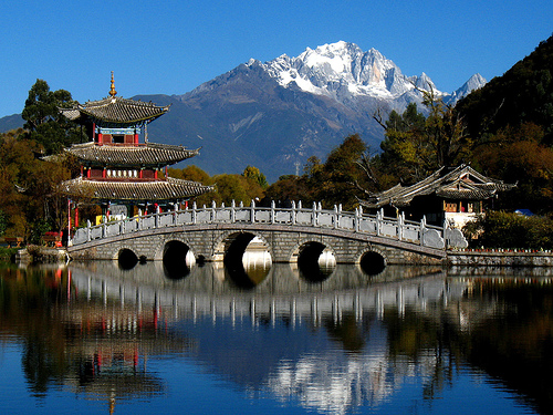lijiang ancient town full Travelling along the east coast of China