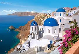 santorini Greek Island holidays still top favourite Mediterranean holiday destinations